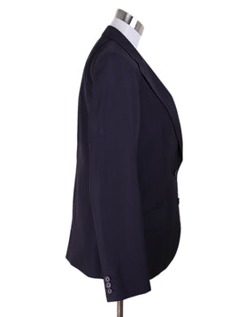 Helmut Lang Purple Plum Silk Jacket 2