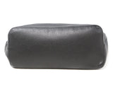 Henry Beguelin Black Grained Leather Magnets Handbag 4