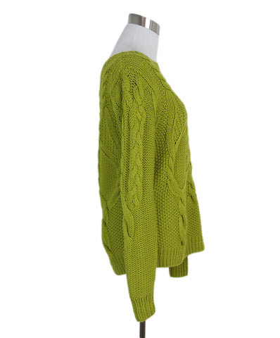 Heritage Green chartreuse sweater 1