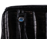 Hermes Black Crocodile 30cm Birkin Bag 8