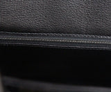 Hermes Black Crocodile 30cm Birkin Bag 6