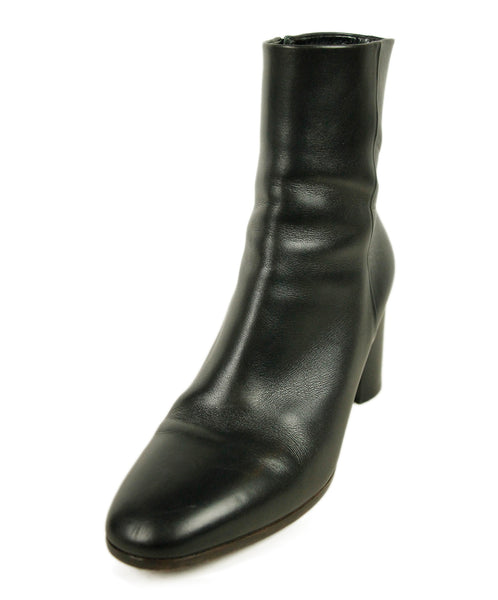 Hermes Black Leather Boots 1
