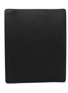 Hermes Black Leather iPad Case 2