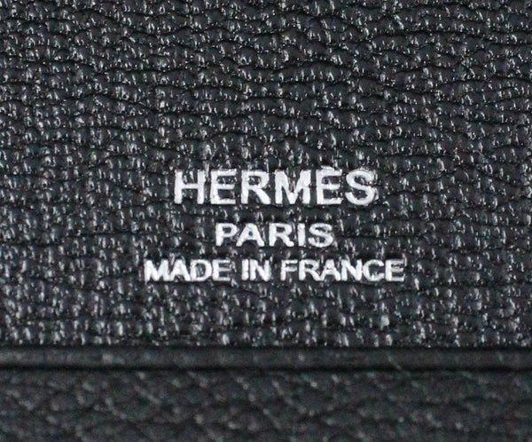 Hermes Black Leather iPad Case 4