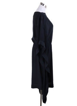 Hermes Black Silk Dress 1