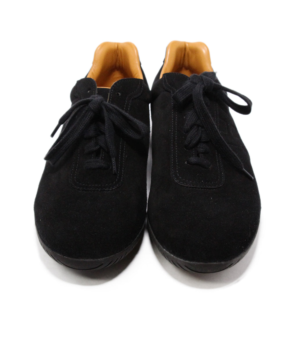 Hermes Black Suede Sneakers 4