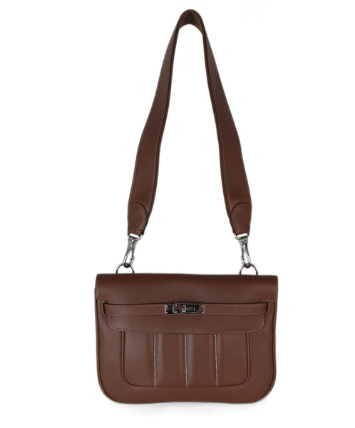 Hermes Brown Berline Bag 1