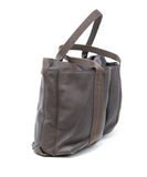Hermes Caravan Horizontal MM Brown Leather Tote 1