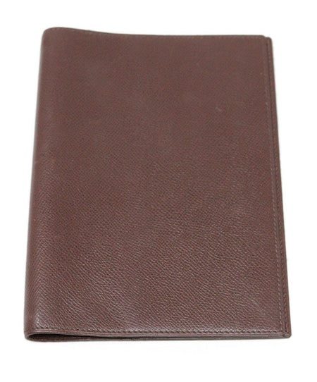 Hermes Black Leather iPad Case