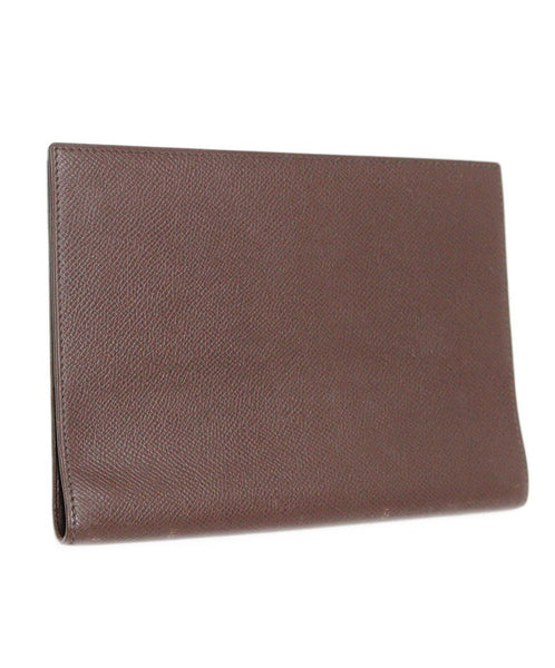 Hermes Brown Leather Medium Agenda Cover 2