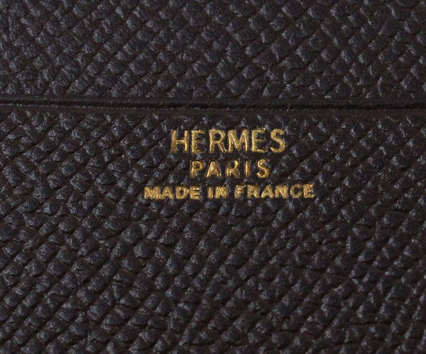 Hermes Brown Leather Medium Agenda Cover 4