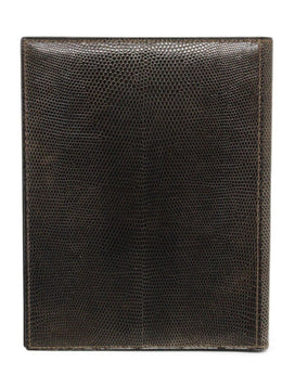 Hermes Brown Lizard Leather Large Agenda Cover 2