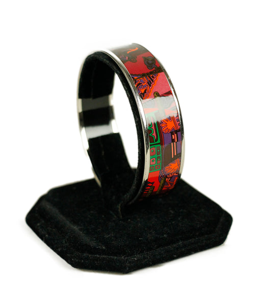 Hermes Brown Multi Color Bracelet