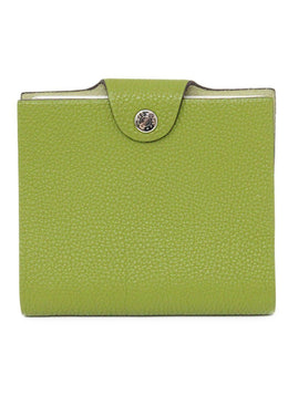 Hermes Green Leather Notebook 1