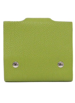 Hermes Green Leather Notebook 2