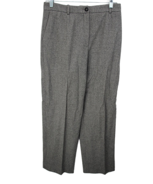 Hermes Grey Wool Pants 1