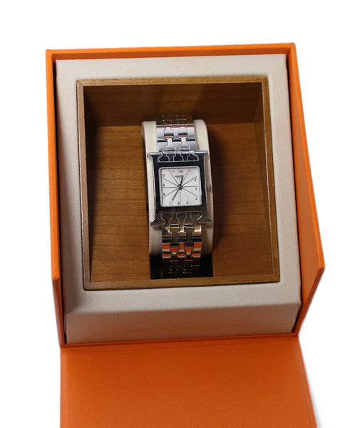 Hermes Huere H Stainless Steel Watch 2
