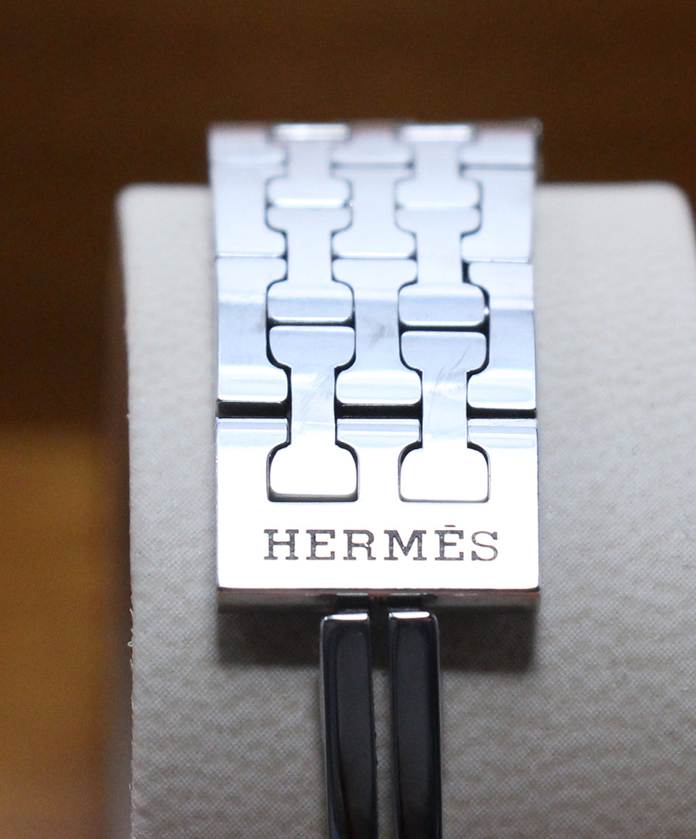 Hermes Huere H Stainless Steel Watch 4