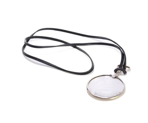 Hermes Magnifying Glass Pendant 1
