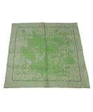 Hermes Green Cheval Surprise Print Silk Scarf 1