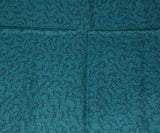 Hermes Teal Silk Pocket Square with Horse motif 5
