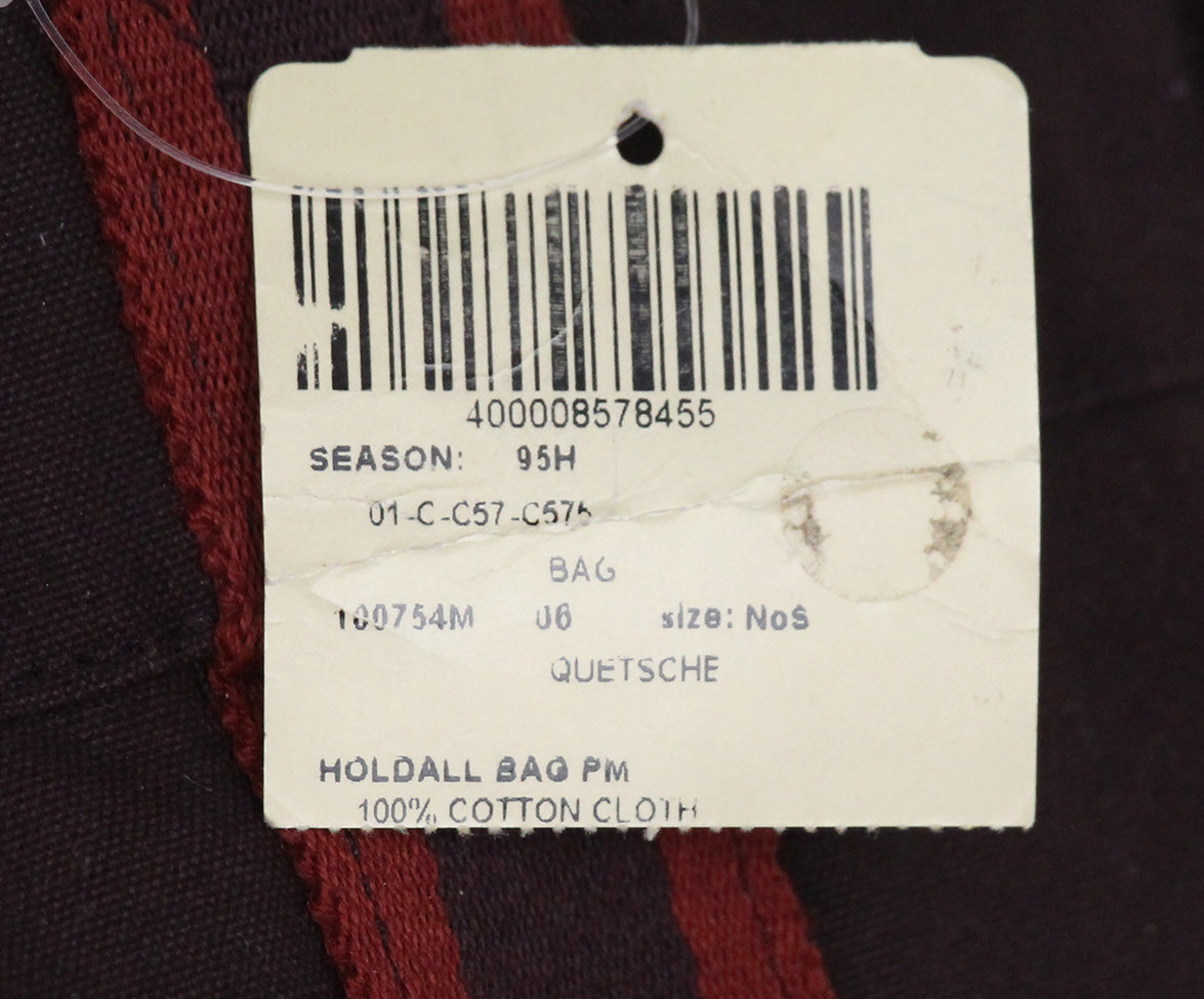 Hermes Red Burgundy canvas Hodall PM tote 10