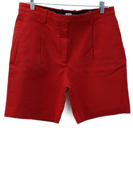 Hermes Red Cotton Shorts