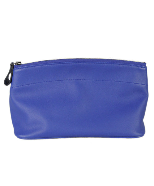 Hermes Blue Royal Blue Leather Misc.