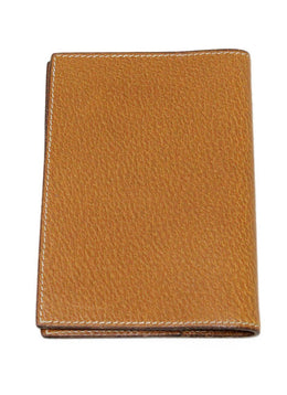 Hermes Brown Lizard Leather Small Agenda Cover 2