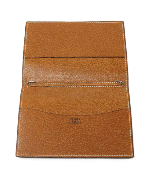 Hermes Brown Lizard Leather Small Agenda Cover 3