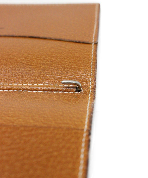 Hermes Brown Lizard Leather Small Agenda Cover 5