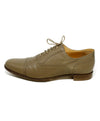 Hermes Taupe Leather Spectator Oxford Flats 2