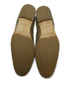 Hermes Taupe Leather Spectator Oxford Flats 5