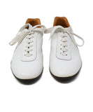 Hermes White Leather Sneakers  2