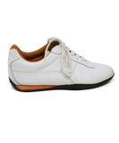 Hermes White Leather Sneakers  5