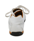 Hermes White Leather Sneakers  6