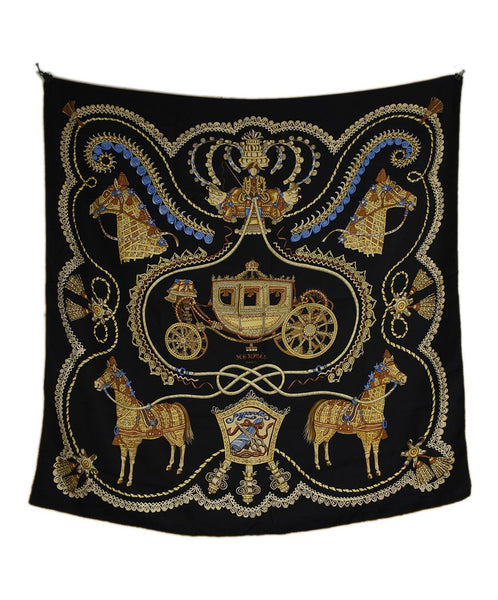 Hermes Horse and Carriage Silk Scarf | Hermes