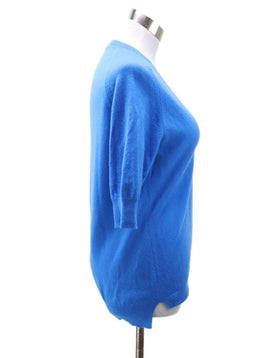 Hermes Blue Cashmere Sweater sz 6