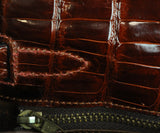 Hermes brown crocodile 32cm bag 16