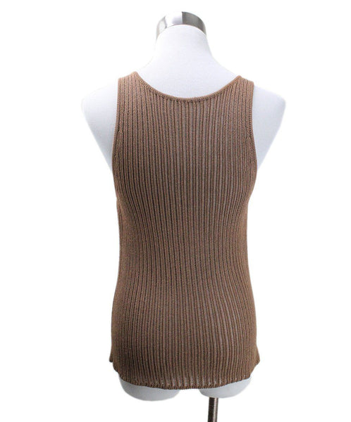 Sweater St Hermes Brown Knit Sweater 5