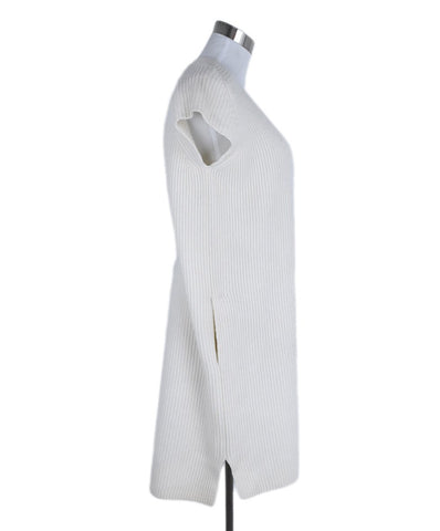 Hermes Ivory Cashmere Dress 1