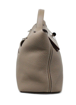 Hermes Taupe Togo Swift 24/24 Bag