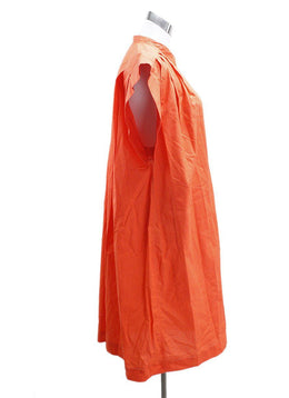 Hermes Orange Cotton Dress 1