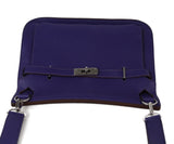 Hermes purple leather Jypsiere 31 bag 5