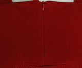 Hermes Red Cotton Sweater Half Zip Sweater 5