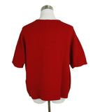 Hermes Red Cotton Sweater Half Zip Sweater 3