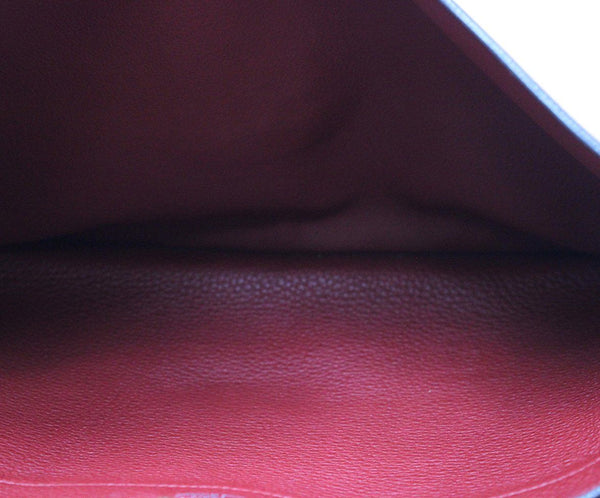 Hermes Red Leather Briefcase 5