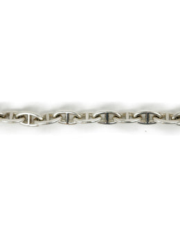 Bracelet Hermes Sterling Silver Links W/Pouch Jewelry 2