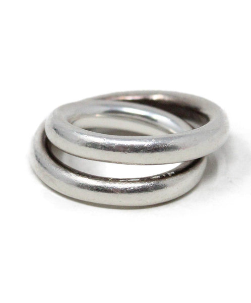 Hermes Sterling Silver Ring 1