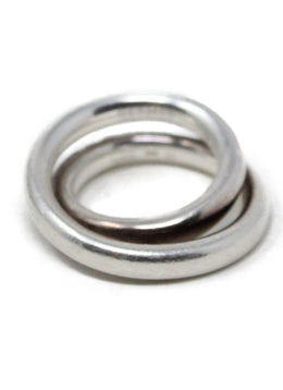 Hermes Sterling Silver Ring 2